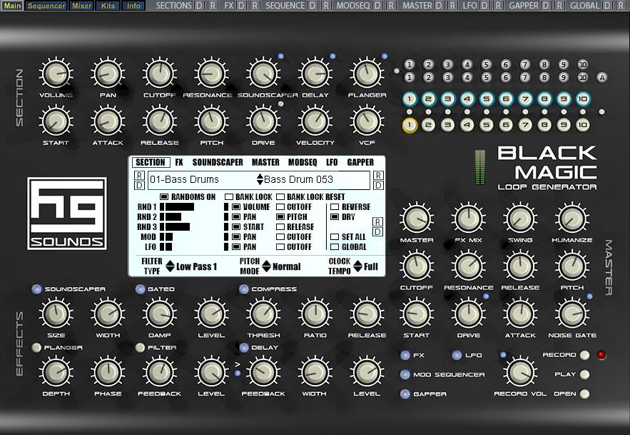 KVR: Black Magic Loop Generator / Black Magic Lite by Homegrown