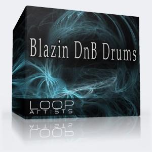 Blazin DnB Drums - Drum and Bass Drums Loop Pack