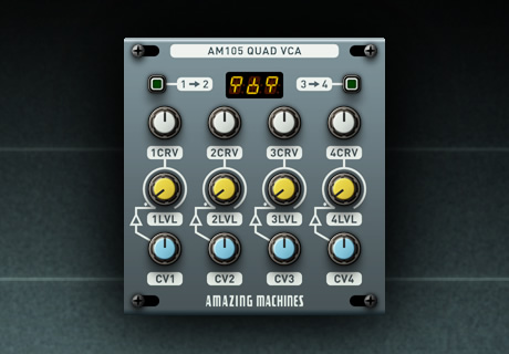 AM105 Quad VCA