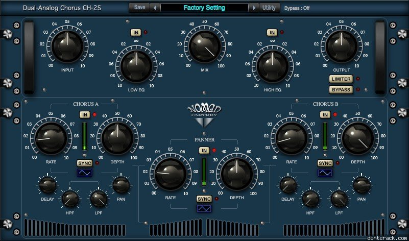 Blue Tubes Analog Chorus CH2S