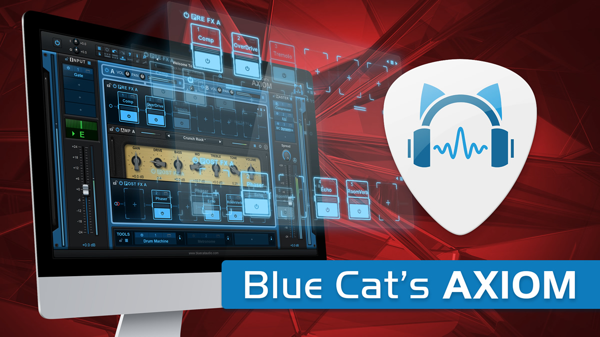 KVR: Blue Cat Audio releases Blue Cat's Axiom Software and