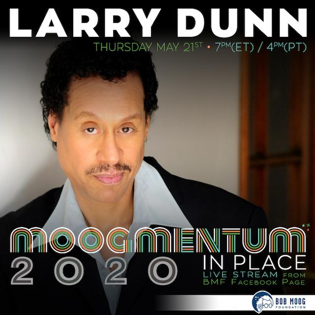 Legendary Earth, Wind, and Fire Keyboardist Larry Dunn to Live Stream for Bob Moog Foundation