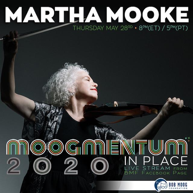Acclaimed Electric Violist Martha Mooke to Perform for Moogmentum In Place