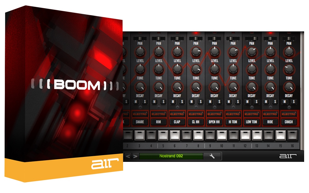 kvr boom au vst by air music technology drum machine vst plugin and audio units plugin. Black Bedroom Furniture Sets. Home Design Ideas