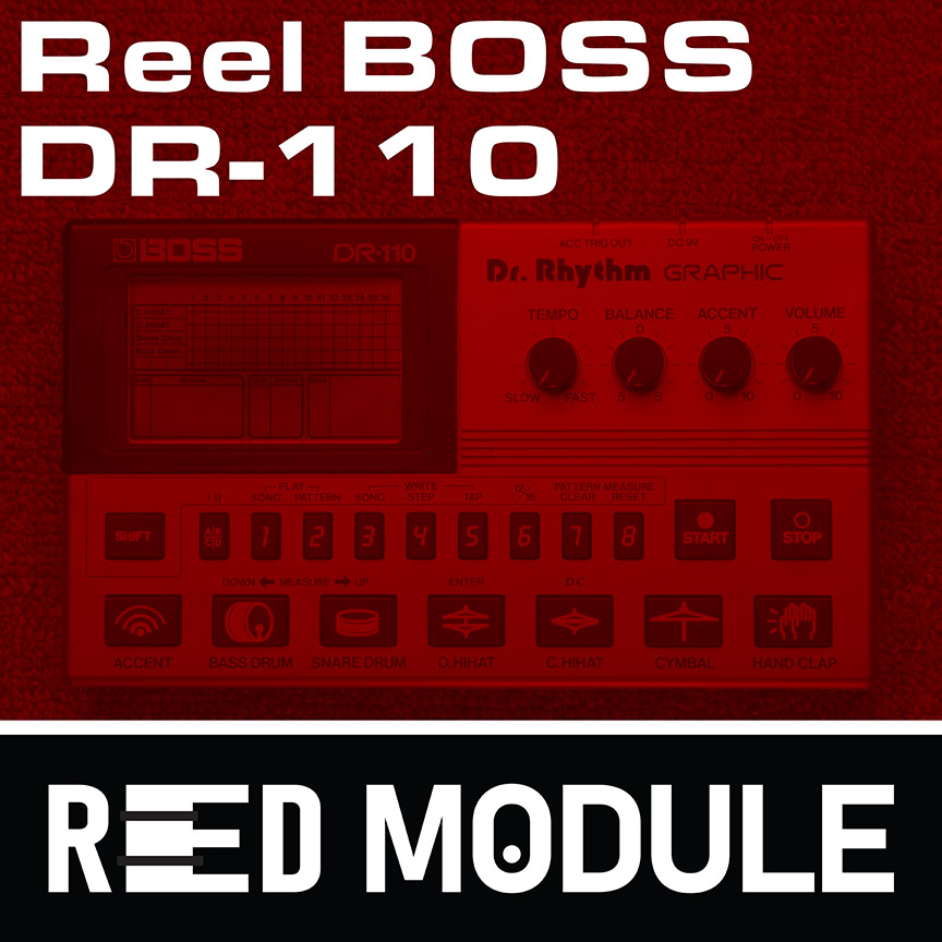 Reel Boss DR-110 Analog Tape Drums