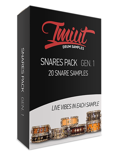 Imiut Productions Snare Pack Gen. I