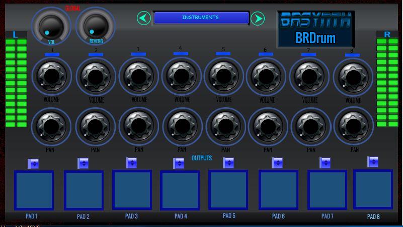 BRDrum - Drum machine