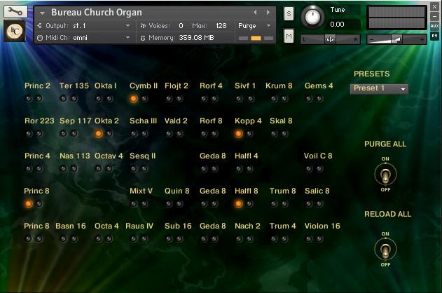 Bureu Organ
