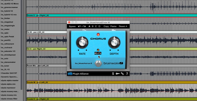 kvr brainworx bx bluechorus2 by plugin alliance guitar pedal emulation vst plugin audio. Black Bedroom Furniture Sets. Home Design Ideas