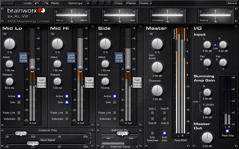 Kvr Brainworx Bx Xl V2 By Plugin Alliance Mid Side