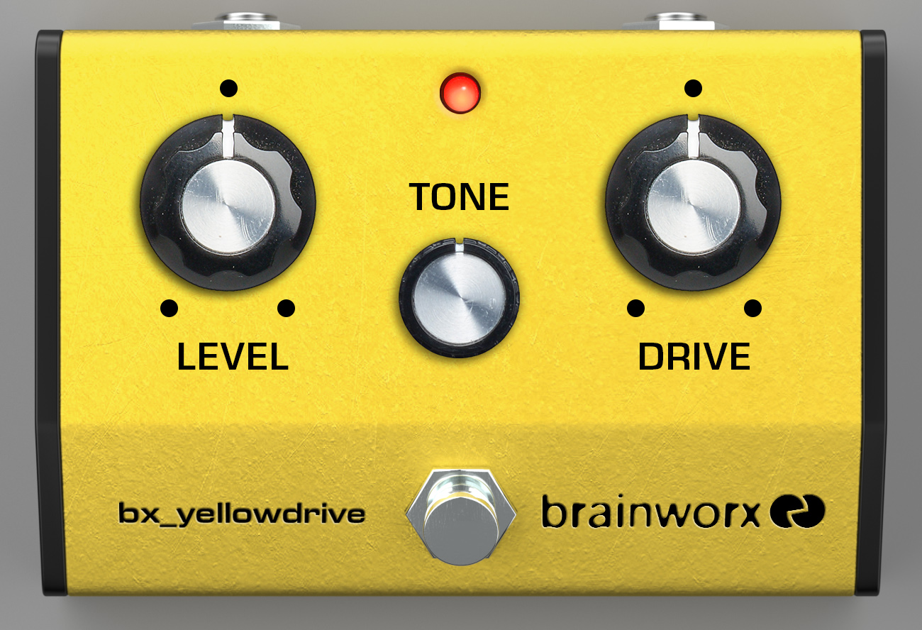 kvr brainworx bx yellowdrive by plugin alliance guitar pedal emulation vst plugin audio. Black Bedroom Furniture Sets. Home Design Ideas