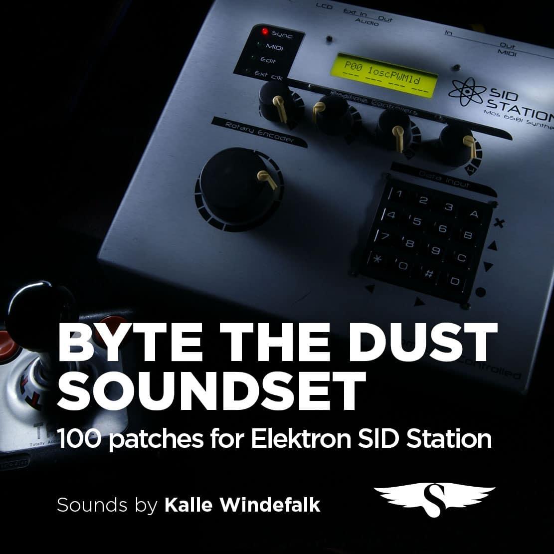 Elektron SID Station Byte The Dust Soundset
