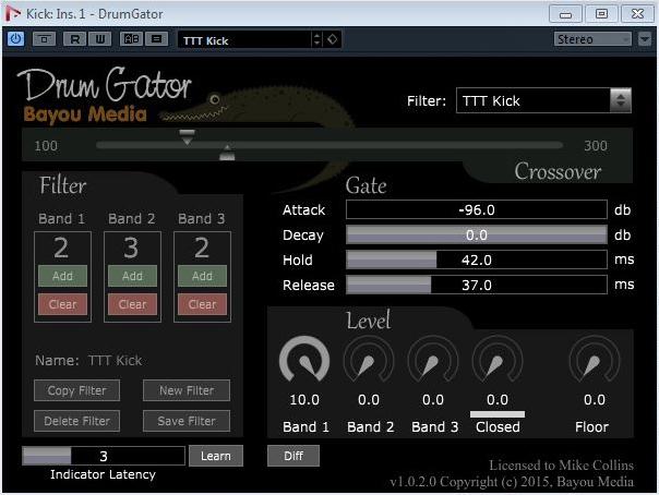 Drum Gator