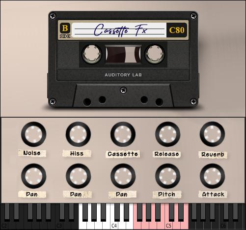 Auditory Lab CassetteFX Plugin - (Pc/Mac VST, AU)