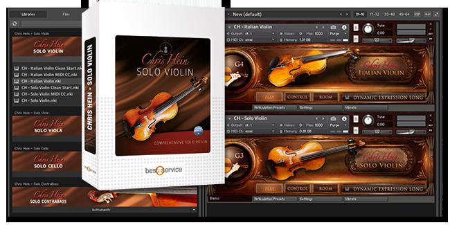 KVR: Best Service updates Chris Hein Solo Violin to v1 2