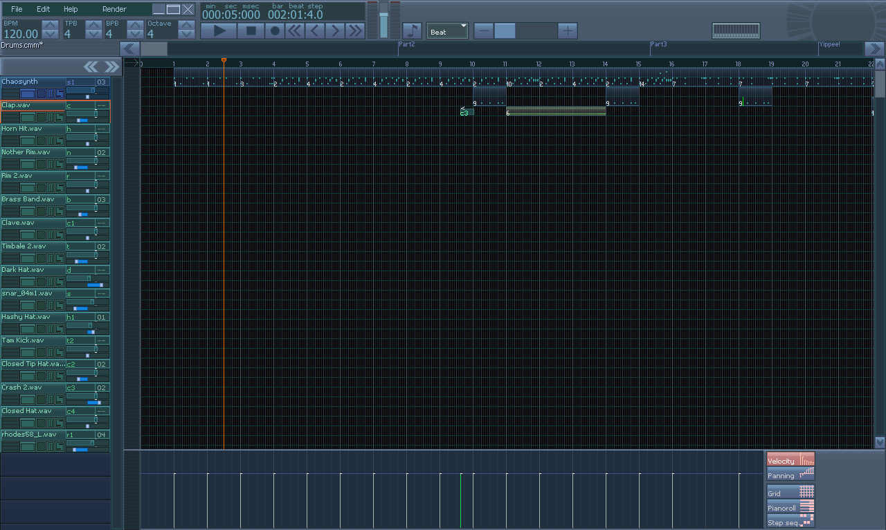 Chaotic Music Maker