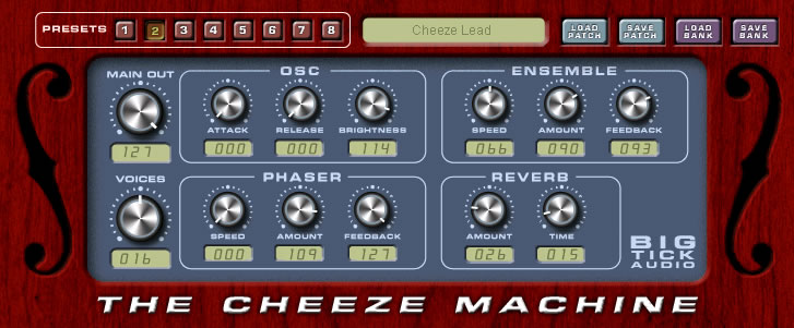 Cheeze Machine