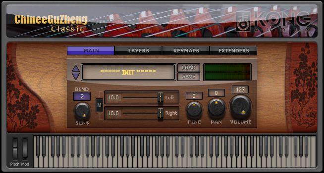 KVR: ChineeGuzheng Classic by Kong Audio - World VST Plugin