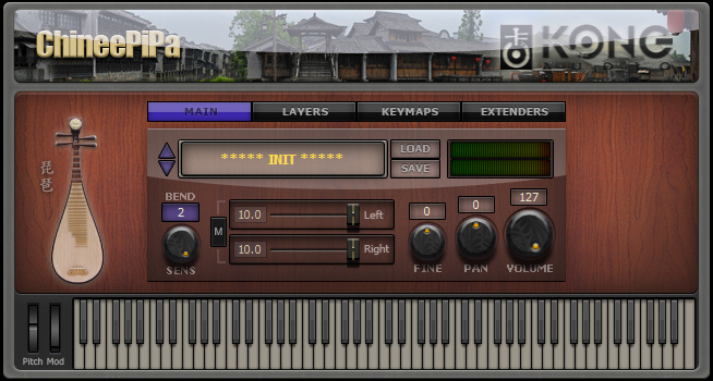 KVR: ChineePipa by Kong Audio - Chinese Lute VST Plugin