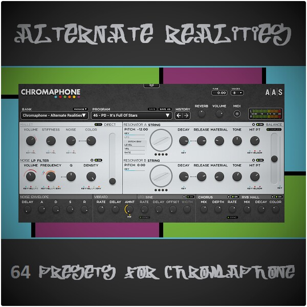 Alternate Realities for AAS Chromaphone