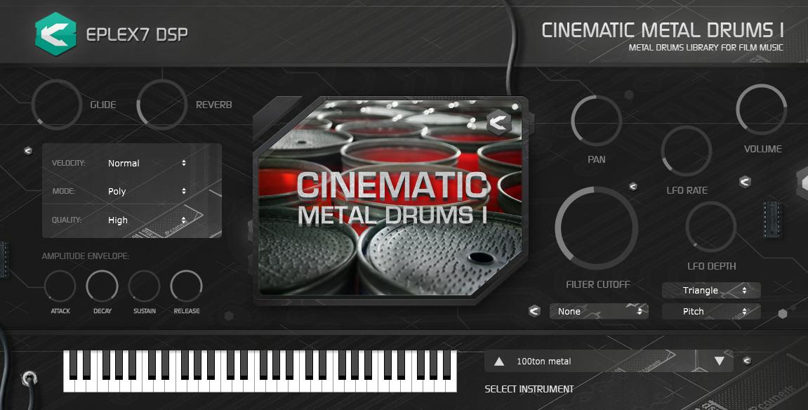 kvr cinematic metal drums 1 plug in instrument by eplex7 dsp cinematic drums vst plugin. Black Bedroom Furniture Sets. Home Design Ideas