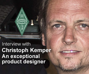KVR interview with Christoph Kemper: An exceptional product designer