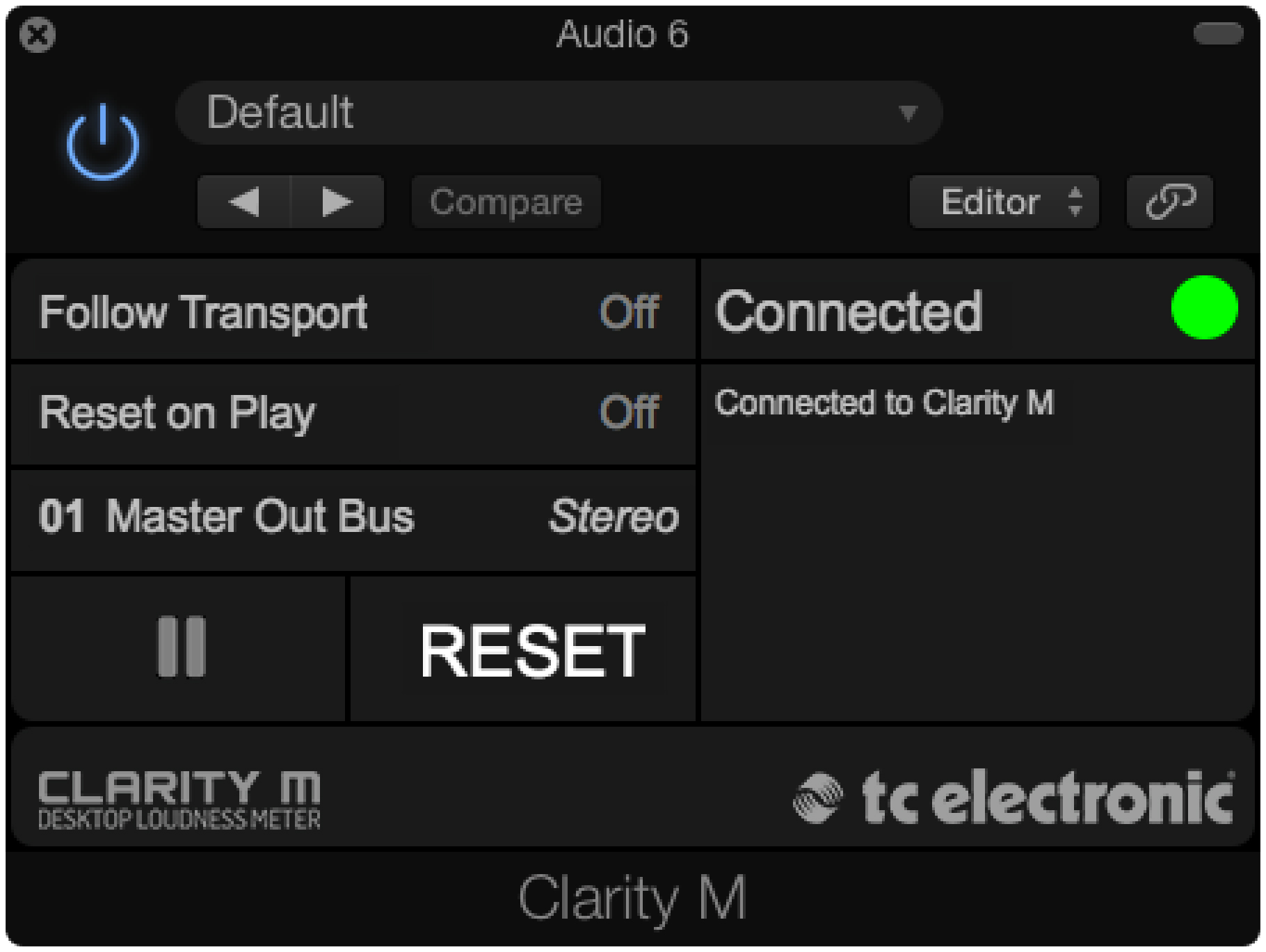 KVR: Clarity M Plug-In by TC Electronic - Loudness Meter VST Plugin