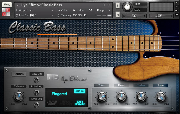 fender precision bass vst