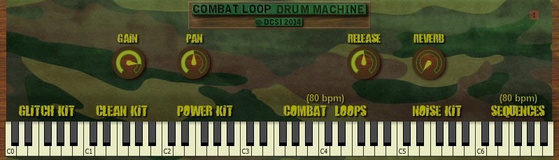 Combat Loop Drum Machine (vst)