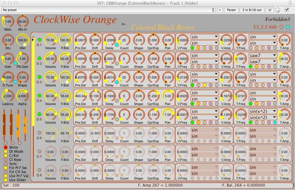 Orange sens horaire