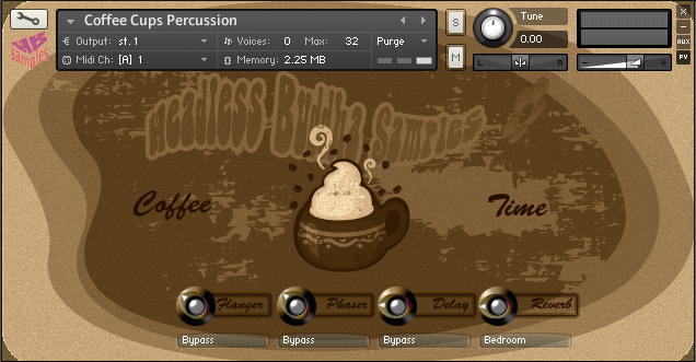 Coffee Cups Percussion