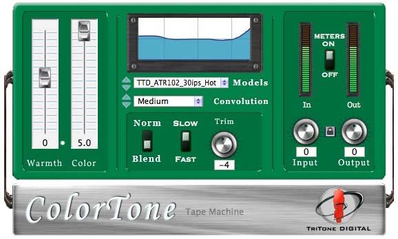 KVR: ColorTone by TriTone Digital - Exciter / Enhancer VST