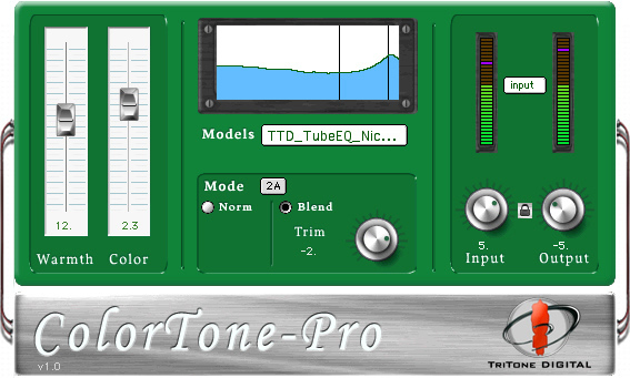 TriTone Digital COLORTONE PRO VST.RTAS.v1.23-отличный имитатор железных апа