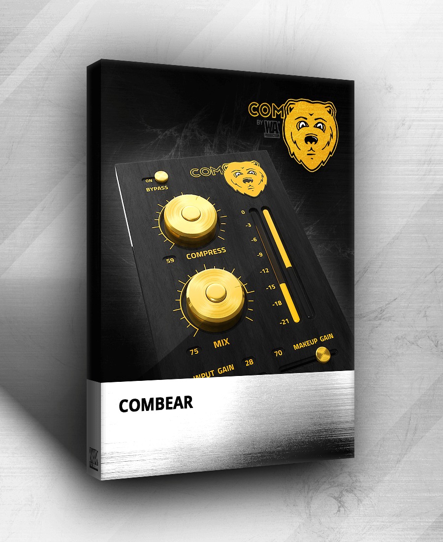 KVR: ComBear by W  A  Production - Parallel Compression VST Plugin