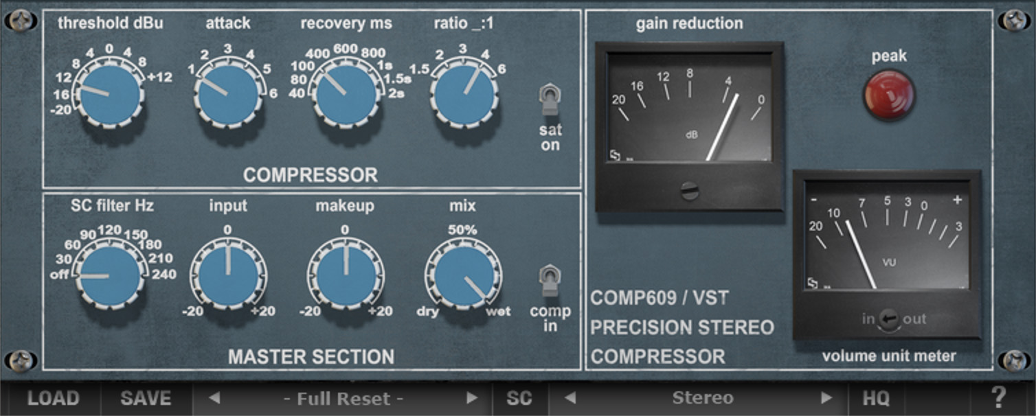 Comp 609 VST