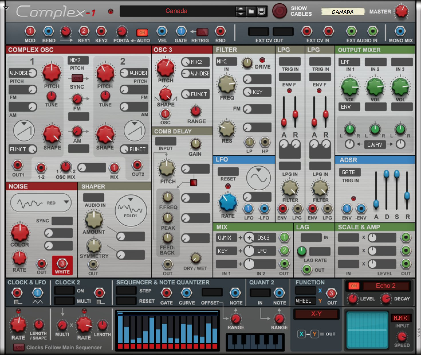 Kvr Propellerhead Releases Complex 1 Modular Synthesizer