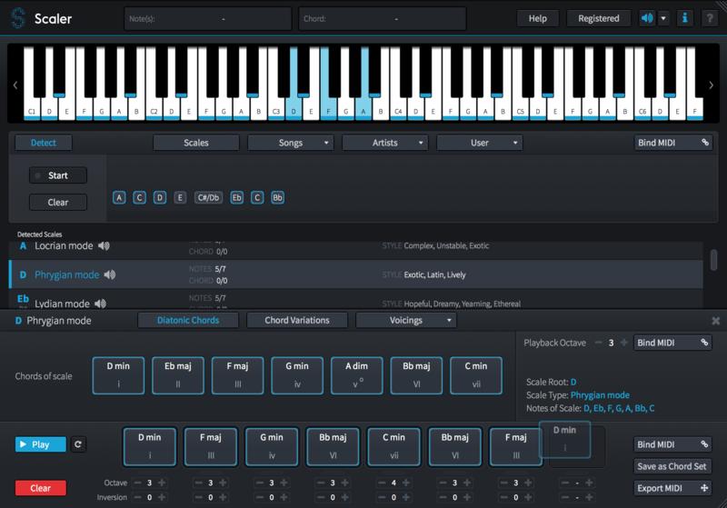 KVR: Scaler by Plugin Boutique - Chord Generator VST Plugin, Audio ...