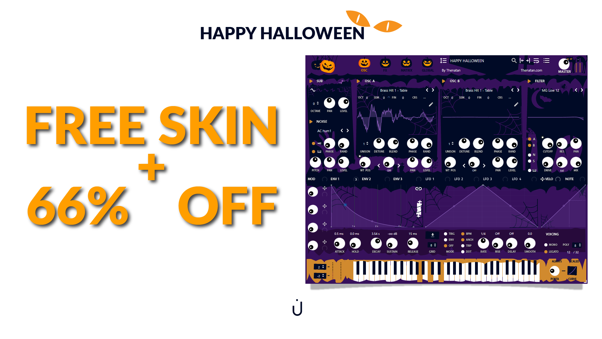 KVR: #KVRDeal Thenatan Halloween Offer 2018 - Up To 66% Off