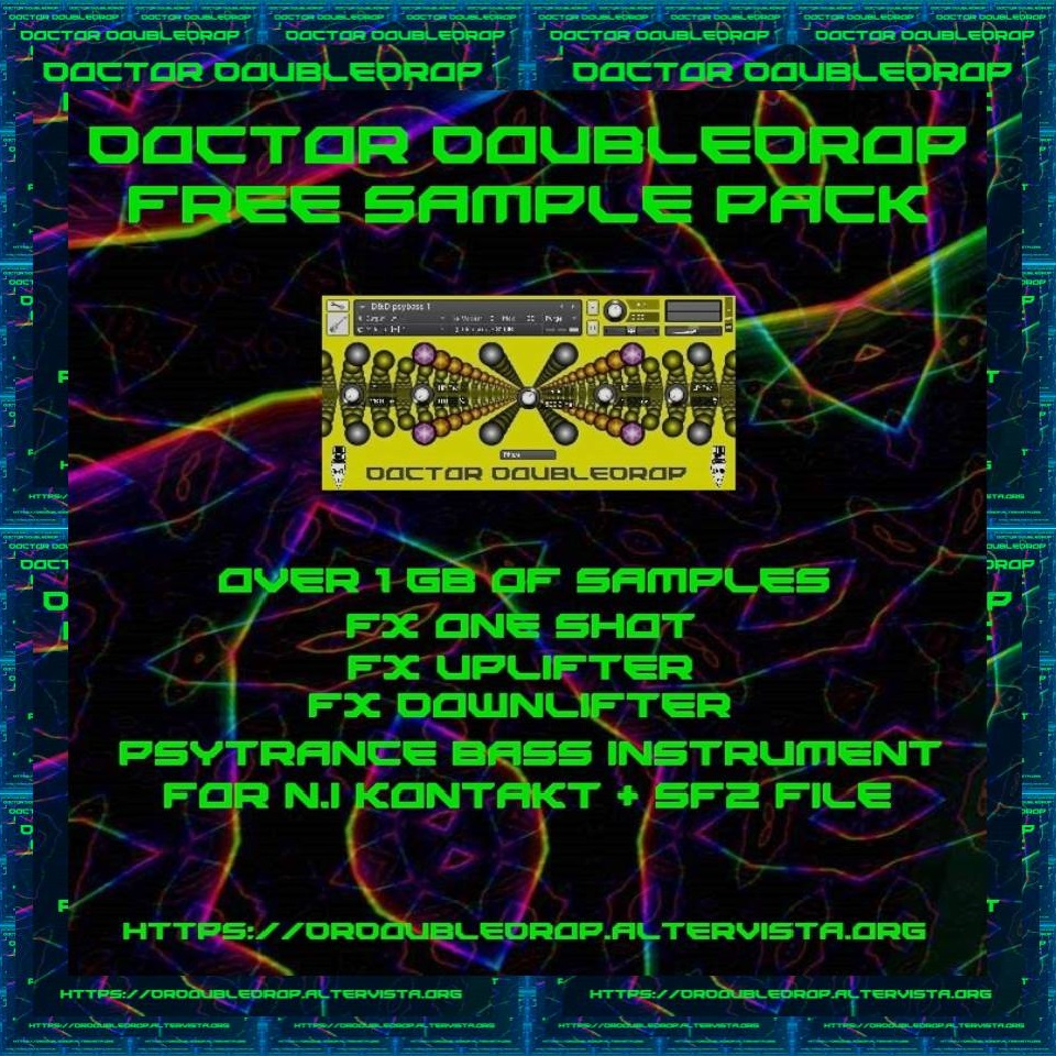Doctor Doubledrop Free Sample Pack