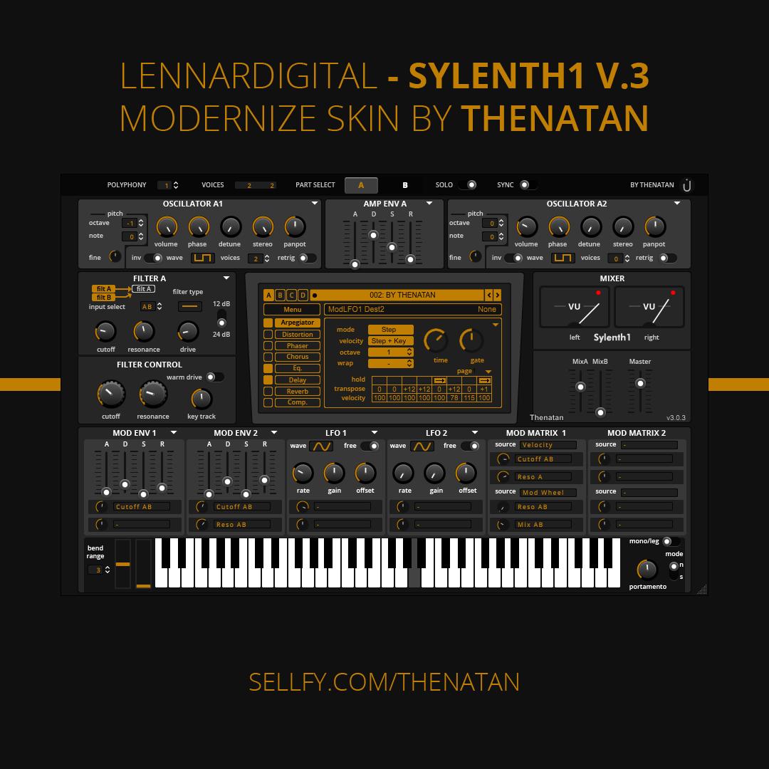 Lennar Digital- Sylenth1 V3 Modernize Skin