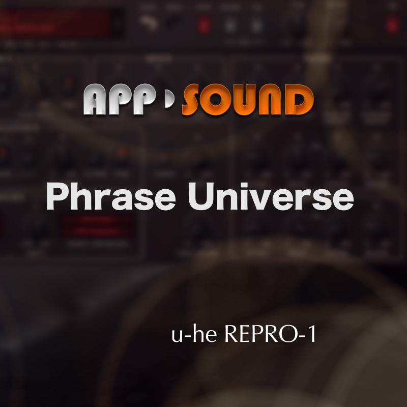 Phrase Universe for u-he Repro-1