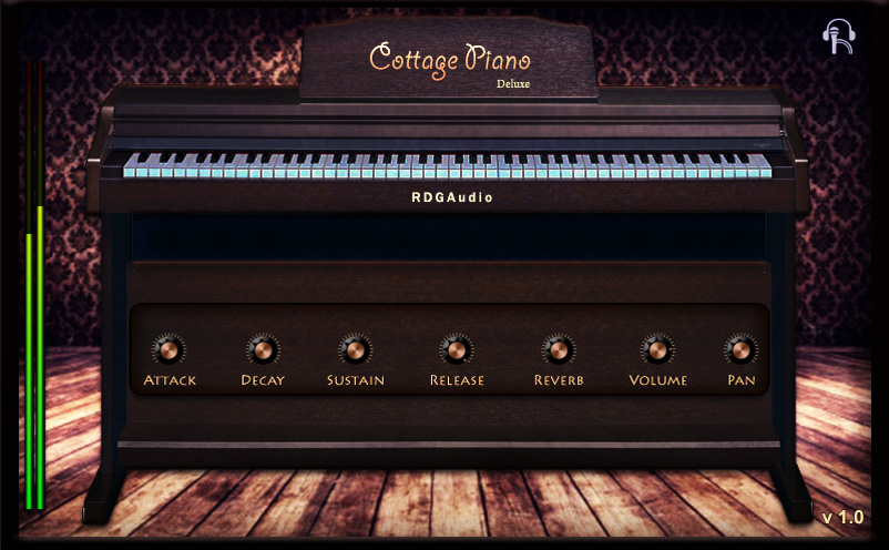 Cottage Piano Deluxe