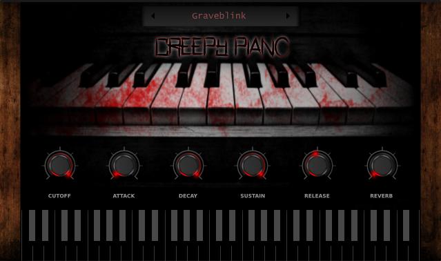 KVR: Creepy Piano by Electronik Sound Lab - Halloween VST