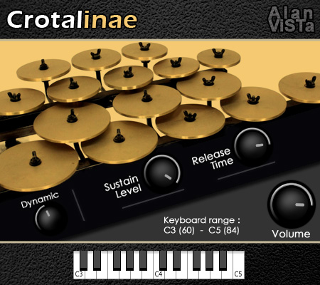 KVR: Crotalinae by Alan ViSTa - Crotales VST Plugin and