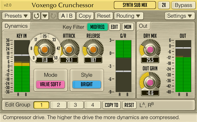 Crunchessor