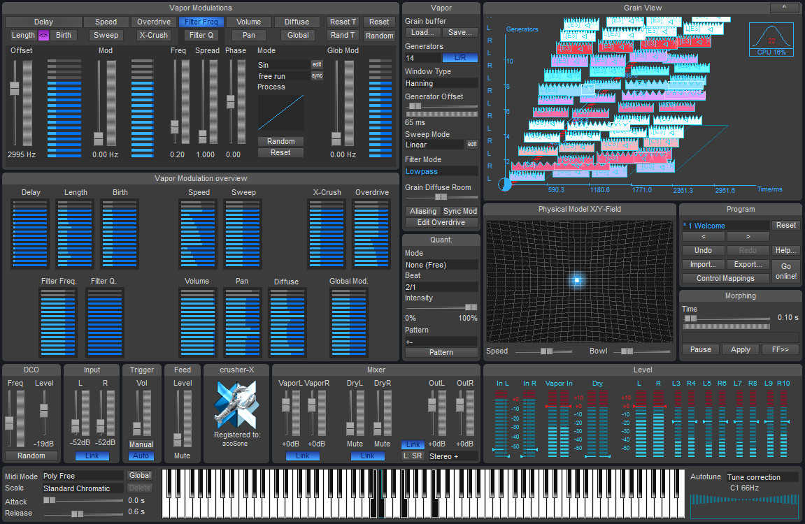 accSone releases crusher-X 6 for Mac & Win VST & AU with Intro Offer