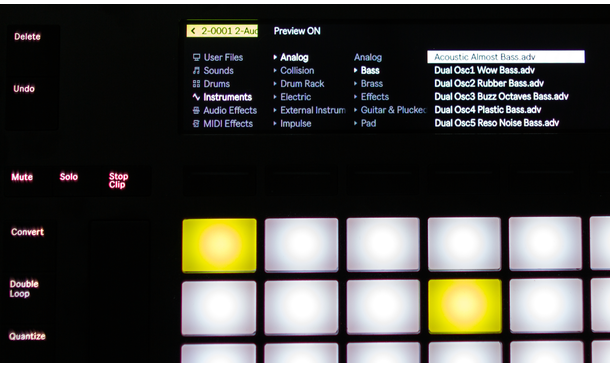 Integration Pack Ableton Push/Arturia V Collection 6