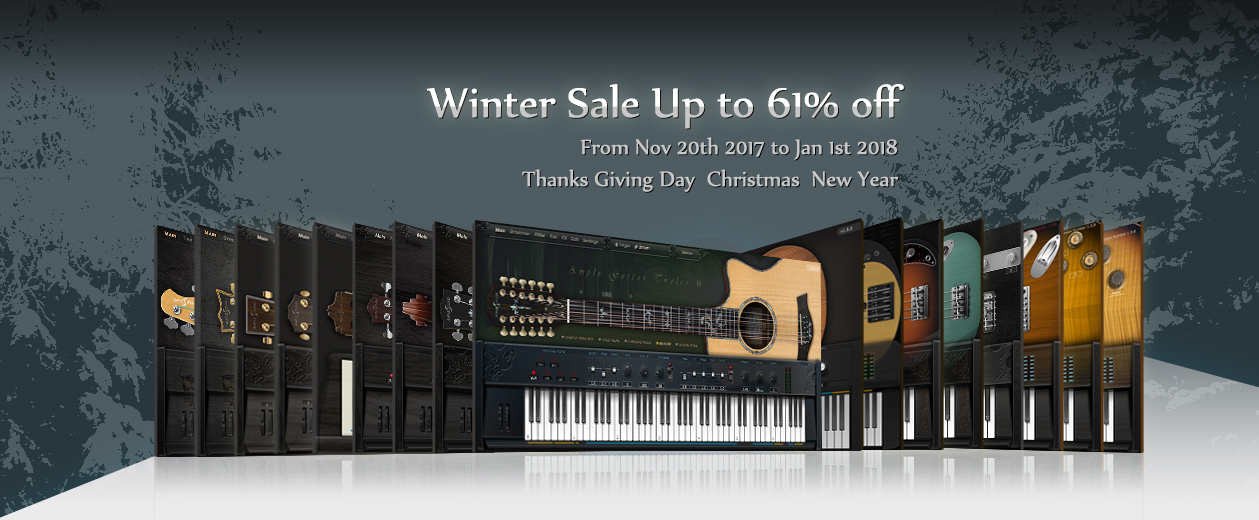 KVR: Ample Sound releases AG12 v2 with Winter Sale (up to 61