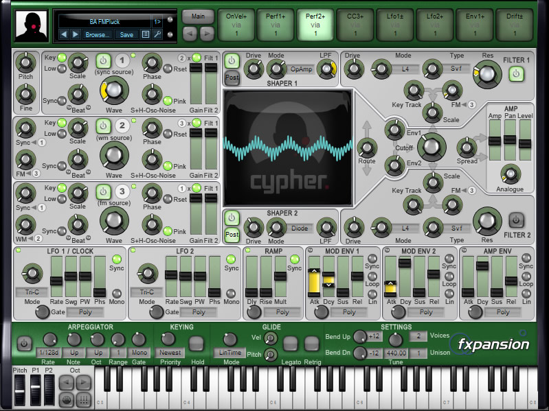 Cypher (DCAM: Synth Squad)