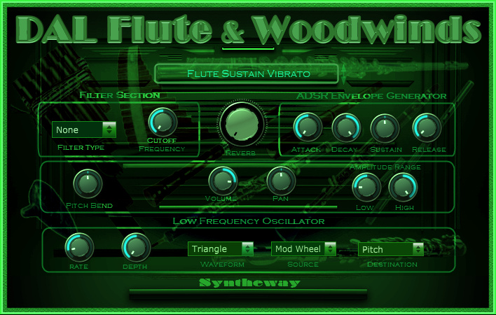 KVR: Syntheway releases DAL Flute & Woodwinds for Windows
